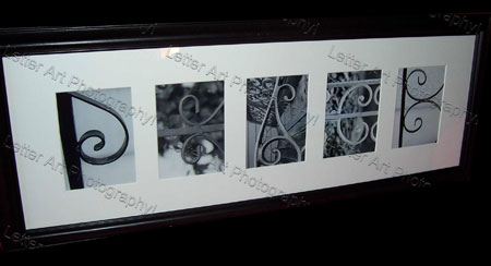 letter art photography custom framed art options online ordering